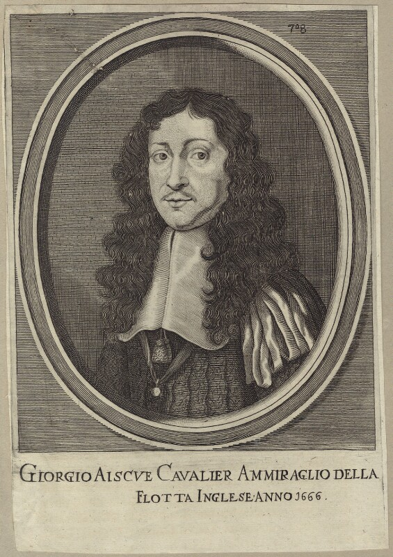 Sir George Ayscue, after Unknown artist, late 17th to early 18th century - NPG D29932 - © National Portrait Gallery, London