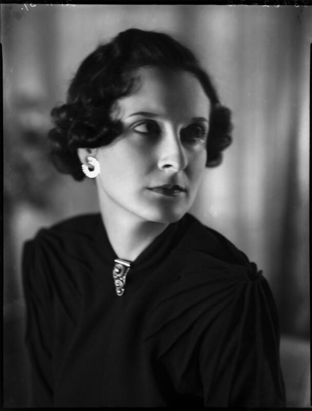 Anne Geraldine Fleming, by Bassano Ltd, 21 October 1937 - NPG x153029 - © National Portrait Gallery, London