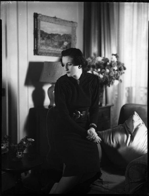 Anne Geraldine Fleming, by Bassano Ltd, 21 October 1937 - NPG x153031 - © National Portrait Gallery, London