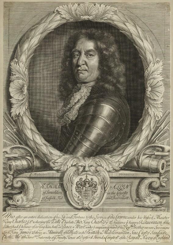 Sir Thomas Allin, 1st Bt, by Peter Vanderbank (Vandrebanc), after  Sir Godfrey Kneller, Bt, late 17th century - NPG D29938 - © National Portrait Gallery, London