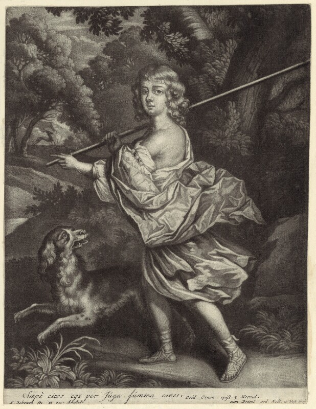 Henry Sidney, Earl of Romney, by and published by Pieter Schenck, early 18th century - NPG D29950 - © National Portrait Gallery, London