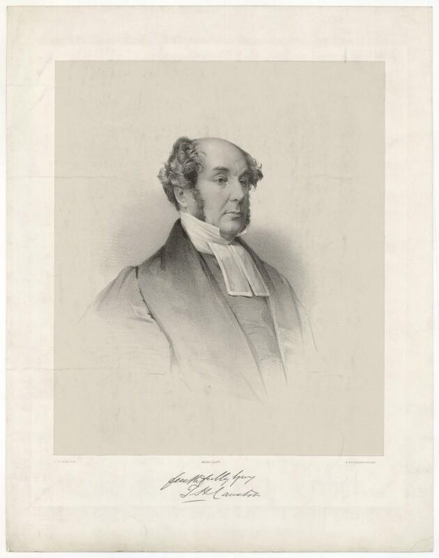 Thomas Henry Causton, by James Henry Lynch, after  John Jabez Edwin Mayall, 1840s-1850s - NPG D32737 - © National Portrait Gallery, London