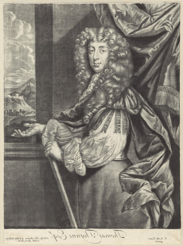 Thomas Thynne, published by Alexander Browne, after  Sir Peter Lely, circa 1684 - NPG D29980 - © National Portrait Gallery, London
