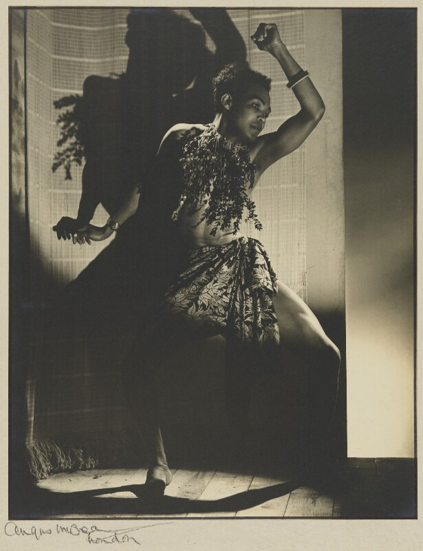 Berto Pasuka, by Angus McBean, published in Ballet January 1946 - NPG P1305 - © estate of Angus McBean / National Portrait Gallery, London