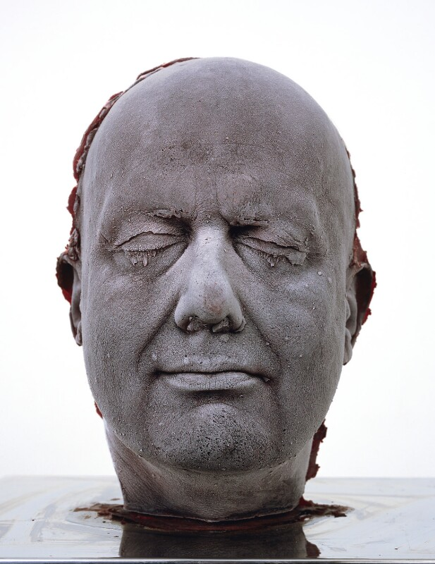 Marc Quinn ('Self'), by Marc Quinn, 2006 - NPG 6863 - © Marc Quinn. Photography by Todd-White Art Photography, courtesy White Cube, London