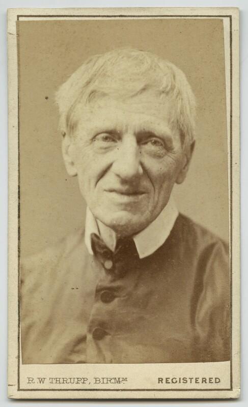 John Newman, by Robert White Thrupp, 1866 - NPG x32955 - © National Portrait Gallery, London