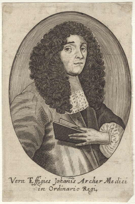 John Archer, after Unknown artist, late 17th century - NPG D30037 - © National Portrait Gallery, London