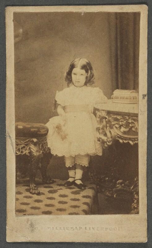Beatrice Webb, by George T. Millichap, circa 1863 - NPG P1292(1) - © National Portrait Gallery, London