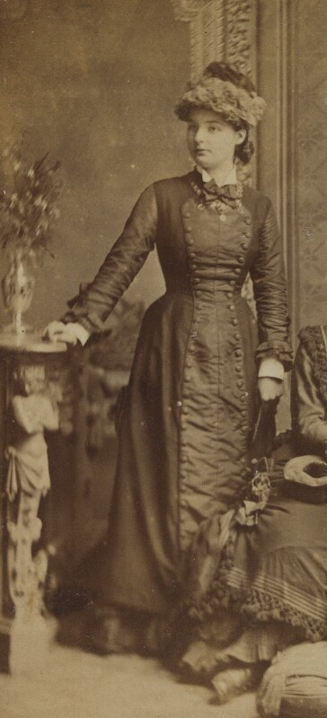 Beatrice Webb, by Unknown photographer, late 1870s - NPG P1292(3) - © National Portrait Gallery, London
