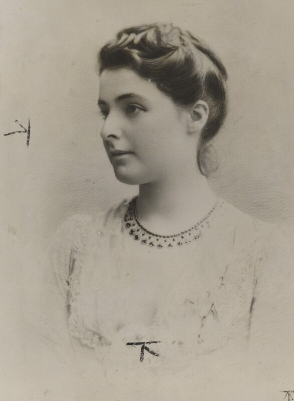 Beatrice Webb, copy by Unknown photographer, 1883 - NPG P1292(5) - © National Portrait Gallery, London