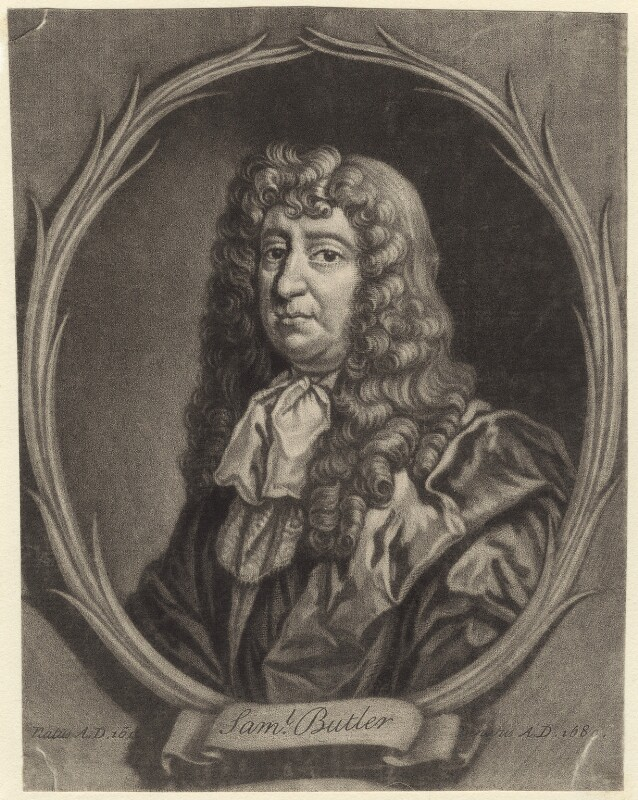 Samuel Butler, after Gilbert Soest, late 17th century - NPG D30124 - © National Portrait Gallery, London