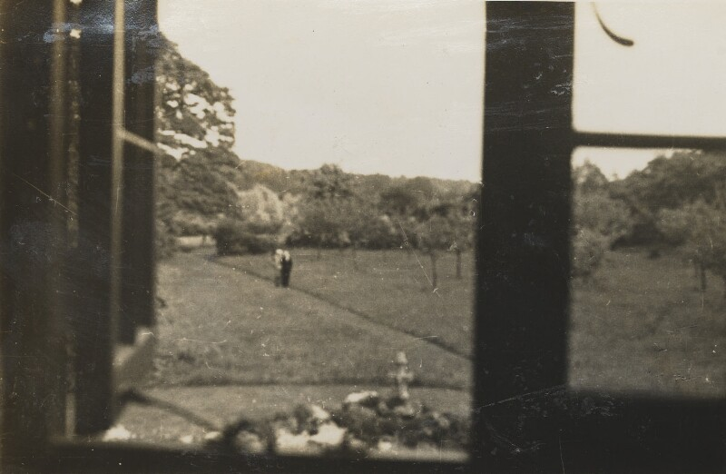 Landscape with figures, by Unknown photographer, 1920s - NPG P1292(39) - © National Portrait Gallery, London