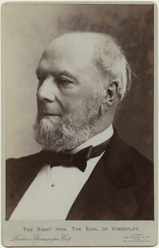John Wodehouse, 1st Earl of Kimberley, by London Stereoscopic & Photographic Company, circa 1897 - NPG x17091 - © National Portrait Gallery, London