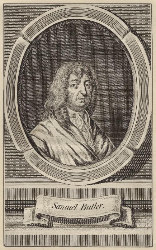 Samuel Butler, after Unknown artist, mid 18th century - NPG D30128 - © National Portrait Gallery, London