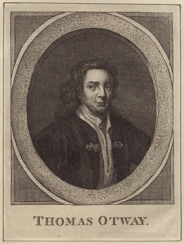 Thomas Otway, possibly after Mary Beale, late 18th to early 19th century - NPG D30157 - © National Portrait Gallery, London