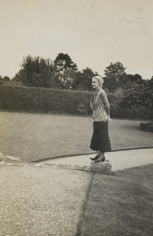 Beatrice Webb, by Unknown photographer, mid 1930s - NPG P1292(55) - © National Portrait Gallery, London