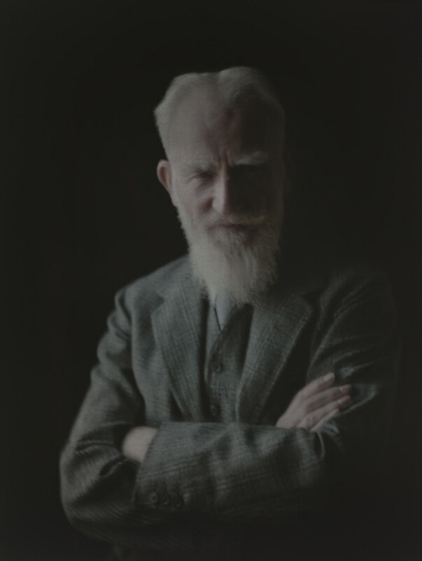 George Bernard Shaw, by Olive Edis, 1936 - NPG x7208 - © National Portrait Gallery, London