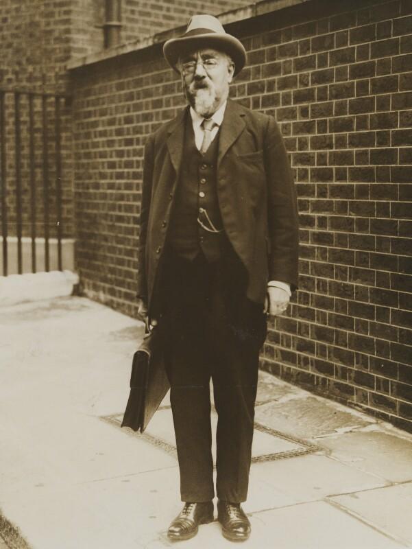 Sidney James Webb, Baron Passfield, possibly by Sport & General Press Agency Ltd, 14 April 1930 - NPG P1292(64) - © National Portrait Gallery, London