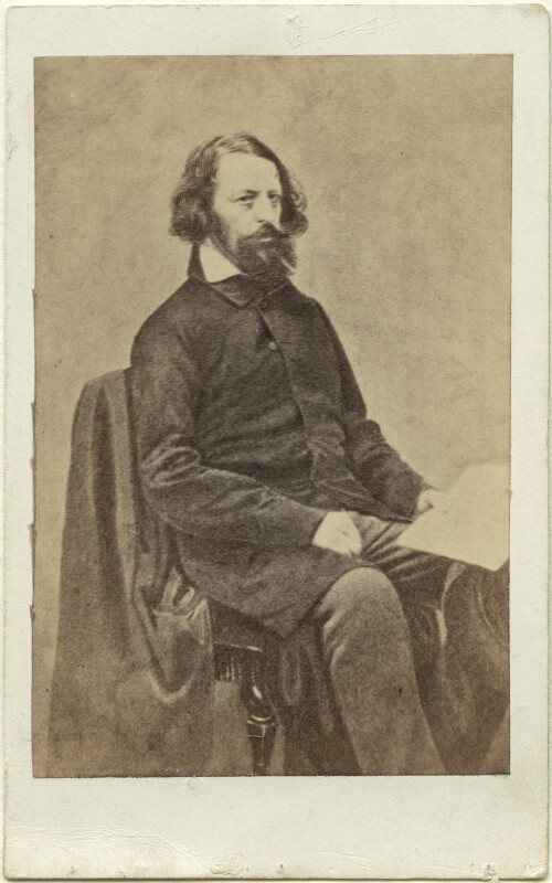 Alfred, Lord Tennyson, after James Mudd, (1861) - NPG Ax18237 - © National Portrait Gallery, London