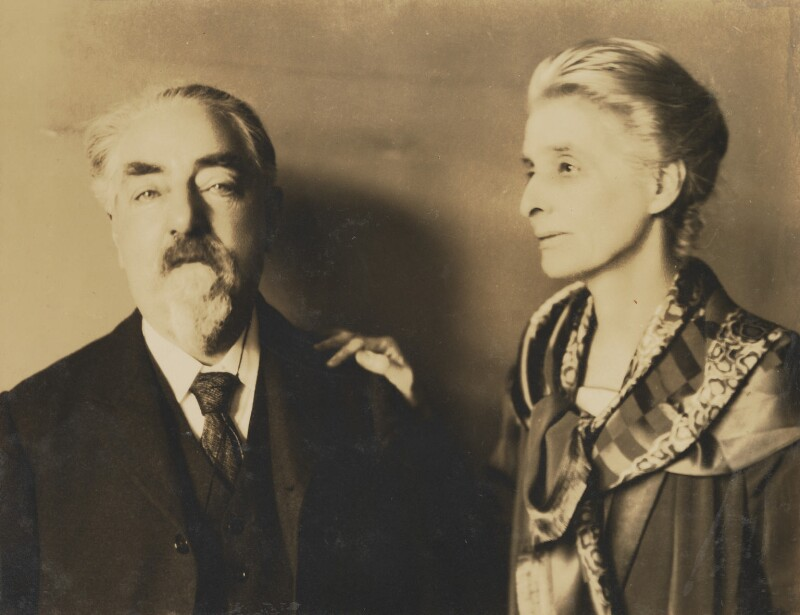 Sidney James Webb, Baron Passfield; Beatrice Webb, by Unknown photographer, 1930s - NPG P1292(89) - © National Portrait Gallery, London
