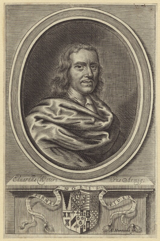 Edward Waterhouse, by Abraham Hertochs (Hertocks), published 1665 - NPG D30216 - © National Portrait Gallery, London