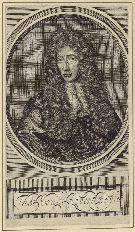 Robert Boyle, after Johann Kerseboom, late 17th to early 18th century - NPG D30348 - © National Portrait Gallery, London