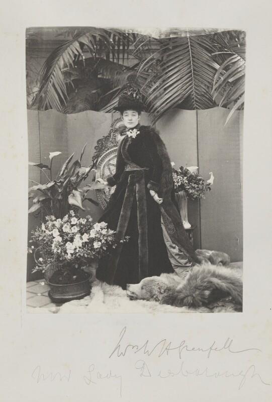 Ethel Anne Priscilla ('Ettie') Grenfell (née Fane), Lady Desborough, by Cyril Flower, 1st Baron Battersea, 1890s - NPG Ax15718 - © National Portrait Gallery, London
