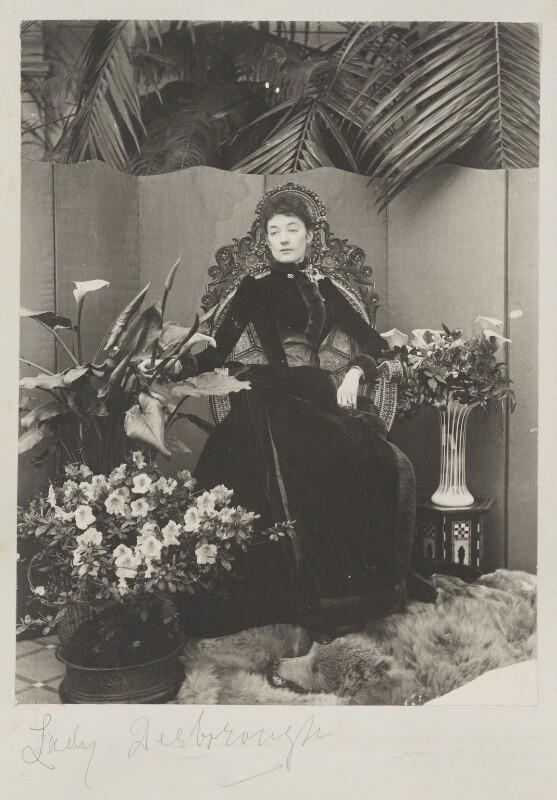 Ethel Anne Priscilla ('Ettie') Grenfell (née Fane), Lady Desborough, by Cyril Flower, 1st Baron Battersea, 1890s - NPG Ax15719 - © National Portrait Gallery, London