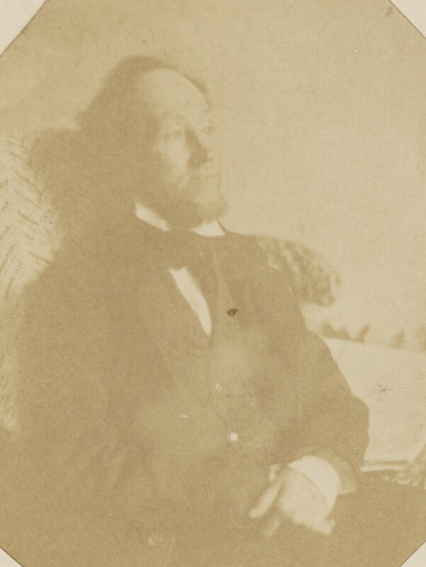 Swynfen Stevens Jervis, by Unknown photographer, mid 1850s - NPG P1273(28a) - © National Portrait Gallery, London