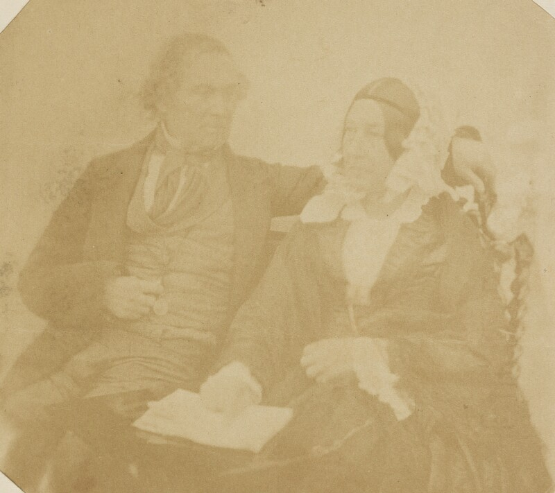 Robert Stephen Rintoul; Henrietta Rintoul, by Unknown photographer, mid 1850s - NPG P1273(28c) - © National Portrait Gallery, London