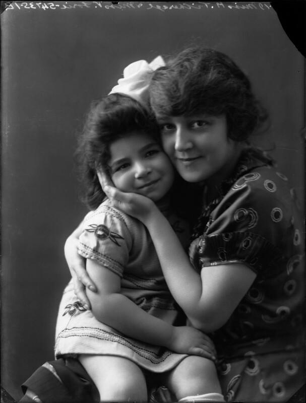 Victoria Marian Lorie; Madge Titheradge, by Bassano Ltd, 8 November 1919 - NPG x131619 - © National Portrait Gallery, London