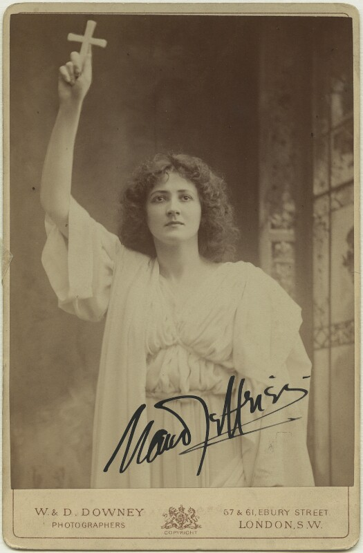 Maud Jeffries as Mercia in 'The Sign of the Cross', by W. & D. Downey, 1899 - NPG x18862 - © National Portrait Gallery, London