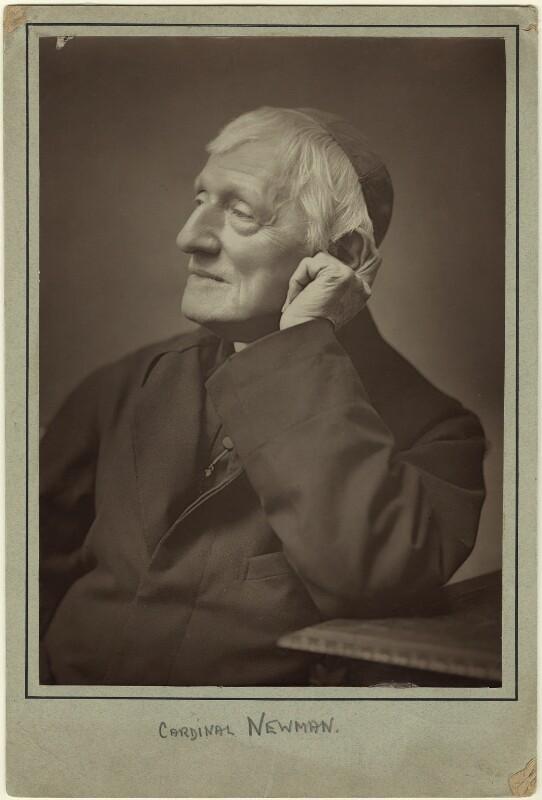 John Newman, by Herbert Rose Barraud, 1887, published 1888 - NPG x21519 - © National Portrait Gallery, London
