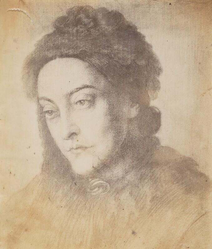 Christina Georgina Rossetti, after Dante Gabriel Rossetti, 1877 - NPG P1273(1b) - © National Portrait Gallery, London