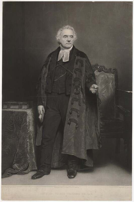 Thomas Chalmers, by James Faed the Elder, after  John Faed, published 1849 - NPG D32816 - © National Portrait Gallery, London