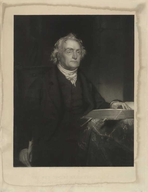 Thomas Chalmers, by Edward Burton, after  Thomas Duncan, published 1845 - NPG D32817 - © National Portrait Gallery, London