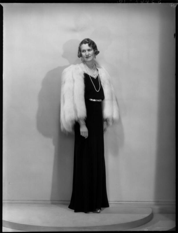 Helen Magdalen Percy (née Gordon-Lennox), Duchess of Northumberland, by Bassano Ltd, 28 March 1939 - NPG x154048 - © National Portrait Gallery, London