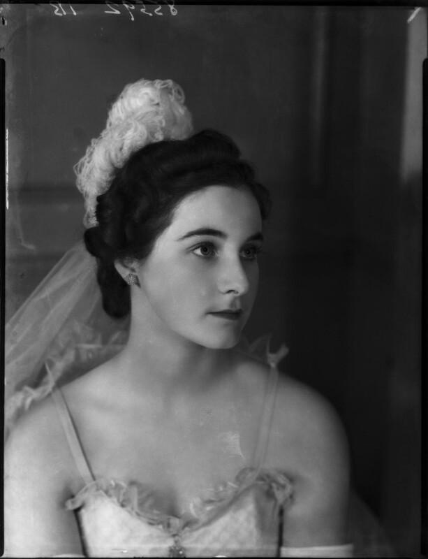 Lady Anne Sophia Berry (née Walpole), by Bassano Ltd, 15 March 1939 - NPG x154051 - © National Portrait Gallery, London