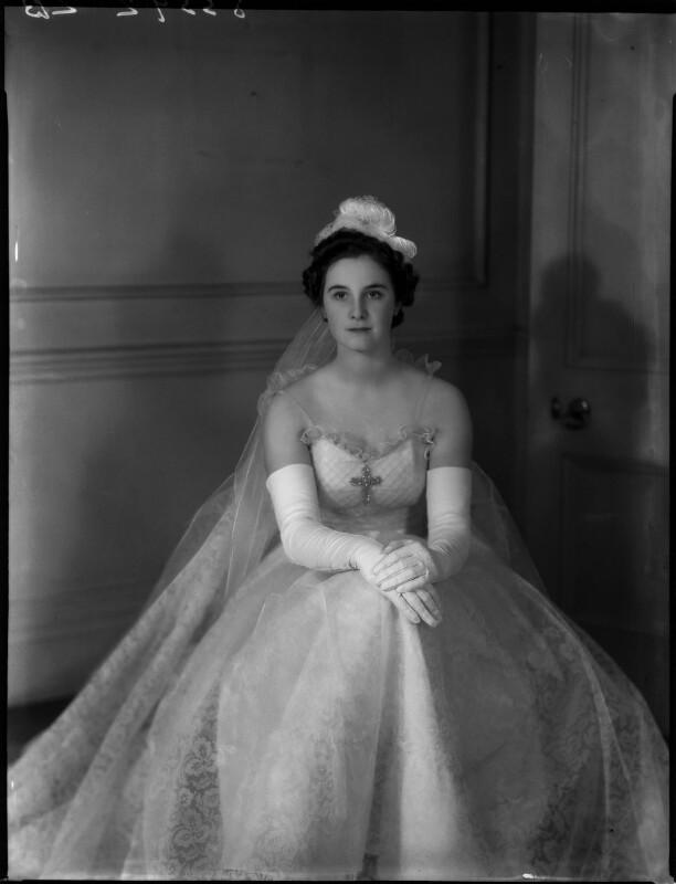 Lady Anne Sophia Berry (née Walpole), by Bassano Ltd, 15 March 1939 - NPG x154052 - © National Portrait Gallery, London