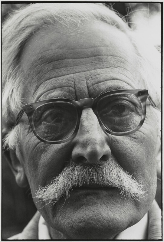 Sir William Empson, by Roger Perry, late 1970s - NPG x131675 - © estate of Roger Perry