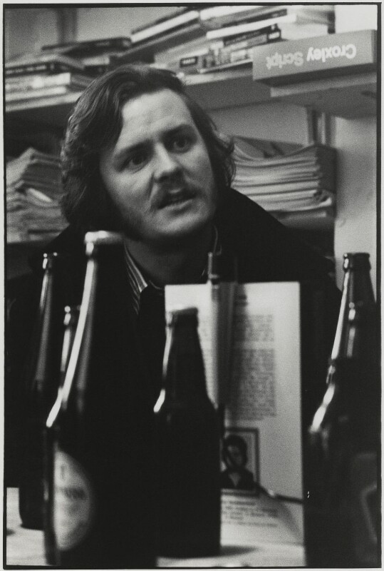 Sir David Hare, by Roger Perry, 1975 - NPG x131677 - © estate of Roger Perry