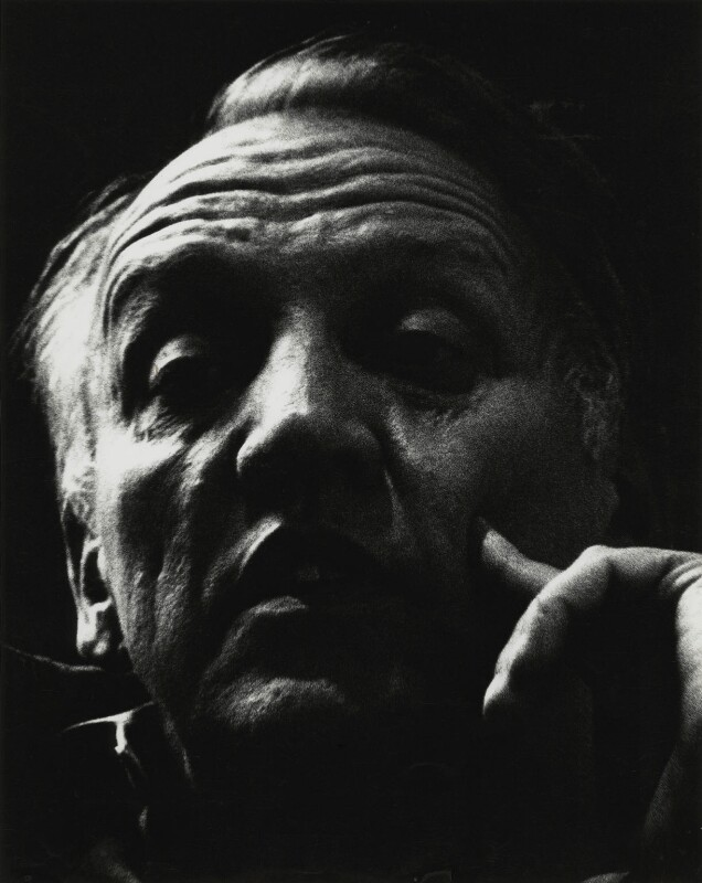 Joseph Losey, by Roger Perry, 1970s - NPG x131678 - © estate of Roger Perry