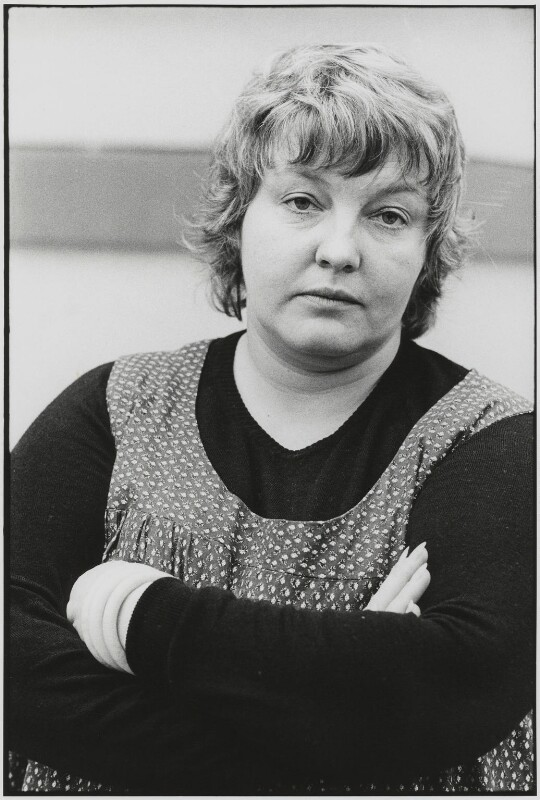 Erin Pizzey, by Roger Perry, 1970s - NPG x131682 - © estate of Roger Perry