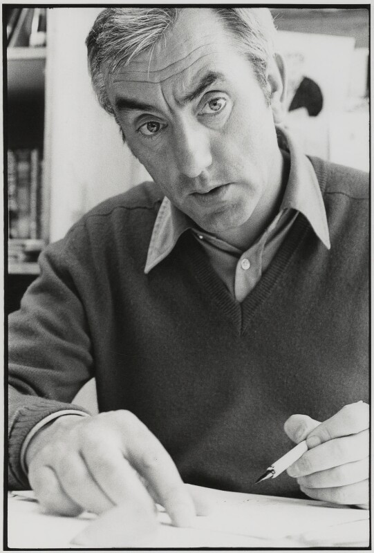 Bill Tidy, by Roger Perry, 1970s - NPG x131683 - © estate of Roger Perry