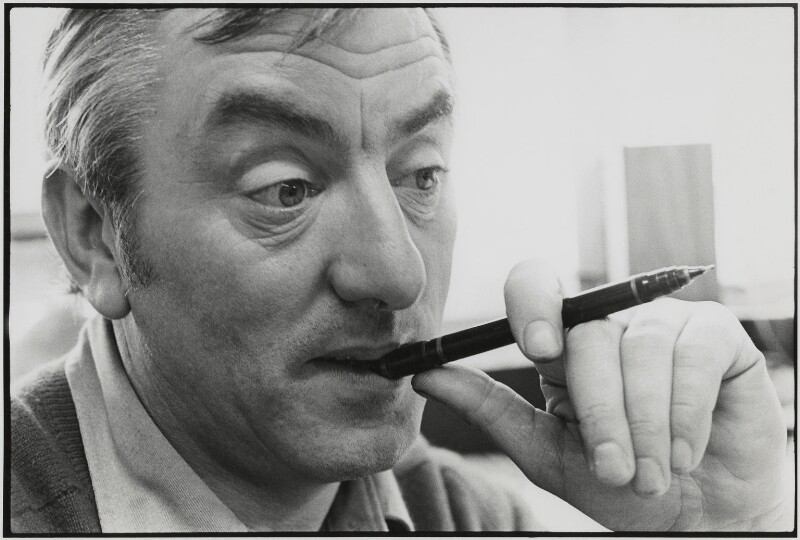 Bill Tidy, by Roger Perry, 1970s - NPG x131684 - © estate of Roger Perry