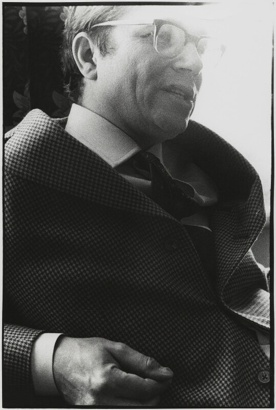 Colin Henry Wilson, by Roger Perry, early 1980s - NPG x131686 - © estate of Roger Perry