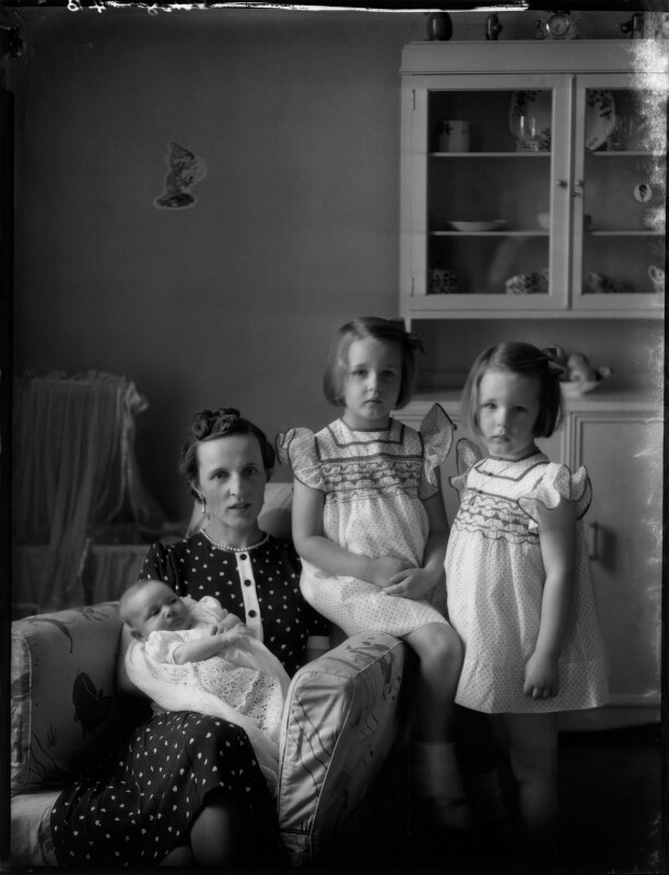 Countess Raczynska with her daughters, by Bassano Ltd, 19 July 1939 - NPG x154119 - © National Portrait Gallery, London