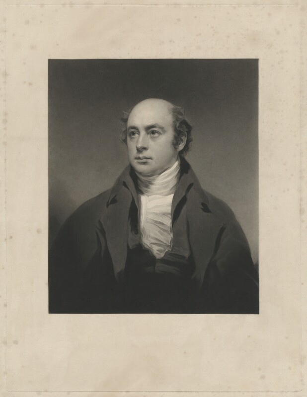 Sir Francis Leggatt Chantrey, by Charles Turner, after  Sir Henry Raeburn, published 1843 - NPG D32855 - © National Portrait Gallery, London