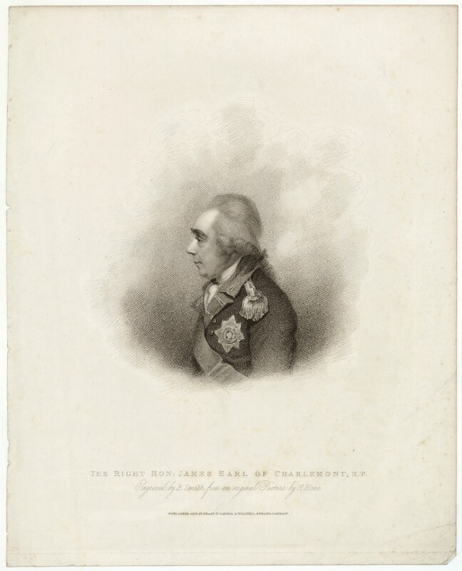 James Caulfeild, 1st Earl of Charlemont, by Benjamin Smith, after  Horace Hone, published 1814 - NPG D32869 - © National Portrait Gallery, London