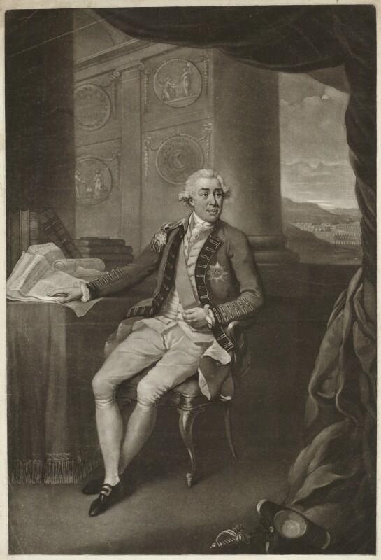 James Caulfeild, 1st Earl of Charlemont, by John Dean, after  Richard Livesay, 1785 - NPG D32870 - © National Portrait Gallery, London